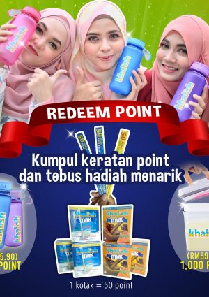 CONTEST redeem point khalish